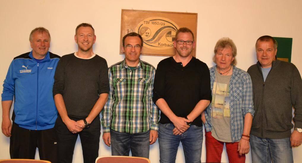 Vorstand und Geschäftsführung der Fussballabteilung des TSV Korbach