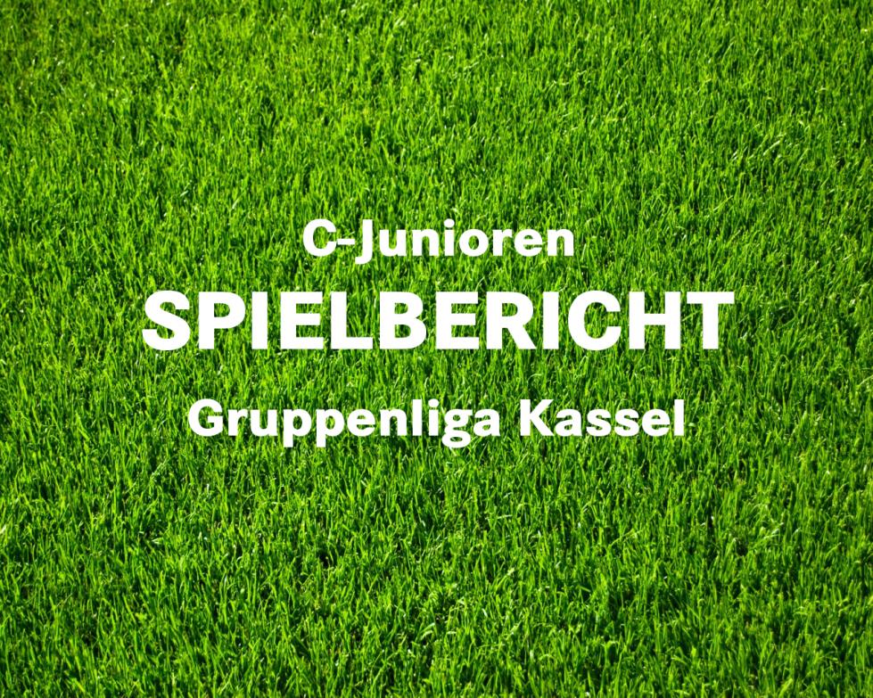 C-Junioren Gruppenliga Spielbericht