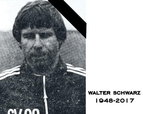 Walter Schwarz 1948 - 2017