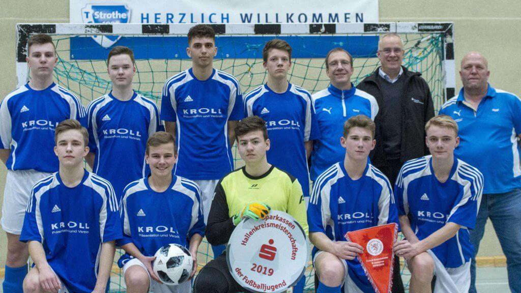 Futsal Kreismeister 2019 - B-Junioren des TSV Korbach