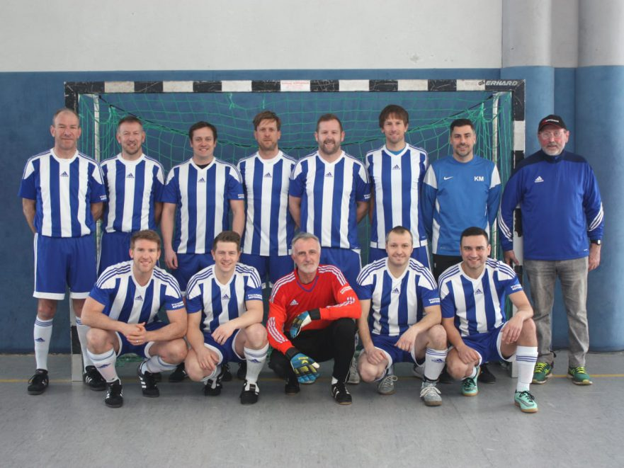 U35-Mannschaft des TSV Korbach