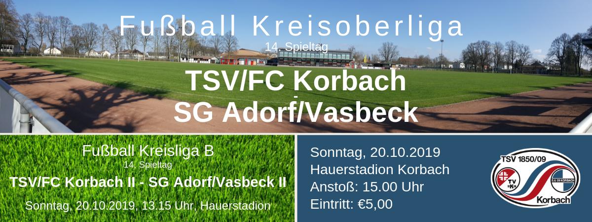 Fussball Kreisoberliga Waldeck: 14. Spieltag