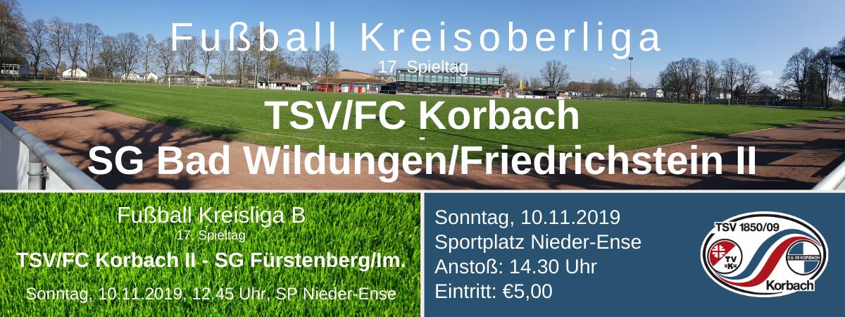 Fussball Kreisoberliga Waldeck: 17. Spieltag