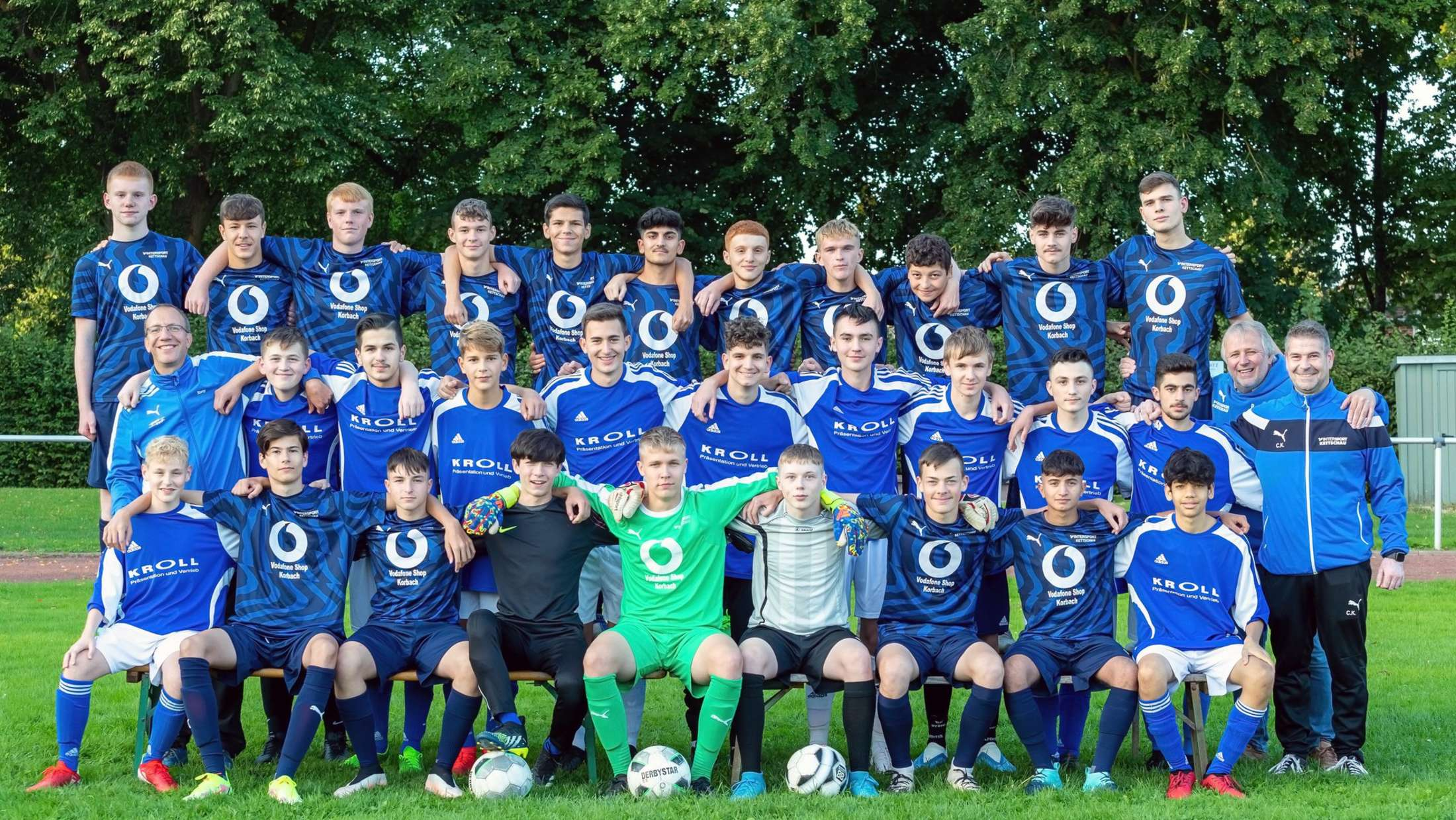 B-Junioren des TSV Korbach